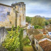 Замок в д. Бурдейль (chateau de Bourdeilles) XII век :: Георгий
