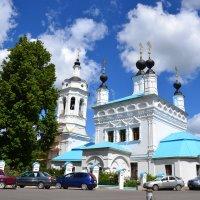 Покровская церковь в Калуге. :: Лариса Вишневская