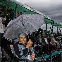 Портрет мужчины с зонтом :: Владимир Дядьков