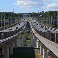 Мостт через р. Оку :: Лариса Вишневская