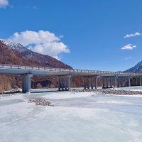 Мост через Белый Иркут :: Анатолий Иргл