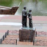 Святые Пётр и Феврония на набережной Цны в Тамбове :: Антонина Балабанова
