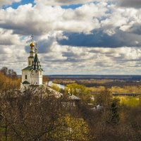 Вид на Николо-галейскую церковь :: Сергей Цветков