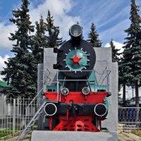 Памятник последнему паровозу. :: Лариса Вишневская