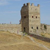 Кафа - древняя Феодосия - крепость :: Анатолий Збрицкий