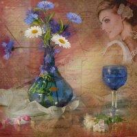 С синей рюмочкой :: Aioneza (Алена) Московская