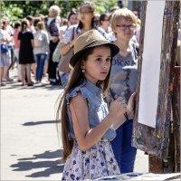 Юная художница :: Александр