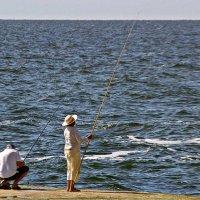 гендерное равенство на рыбалке :: Александр Корчемный