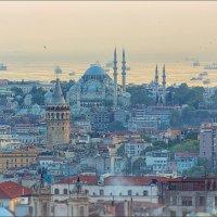 Стамбул на закате солнца :: Ирина Лепнёва