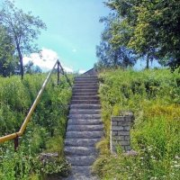 Лестница к храму :: Галина Каюмова