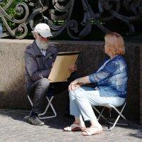 Вот и встретились два одиночества. :: Виктор Никитенко