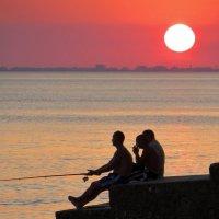 Крымские рыбачки :: Мазутка