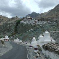 Долина Нубра. Монастырь Дискит :: Evgeni Pa