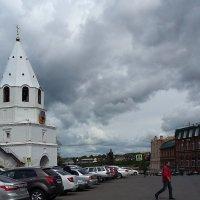 Небо над городом в последний день весны :: nika555nika Ирина