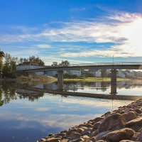 Ранним утром на реке :: Нина Кутина
