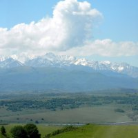 Главный Кавказский хребет :: Алла Захарова