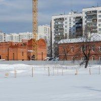 Строительство храма :: Сергей Лындин