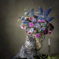 - Не уроню я твою вазу, не бойся! :: Ирина Приходько