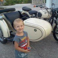 Папа купил... мотоцикл! :: ОЛЕЧКА ЛАЗАРЕВА
