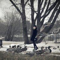 Прогулка по парку :: Андрей Воскобойников