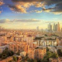 Панорама Москвы :: Илья Бескаравайный