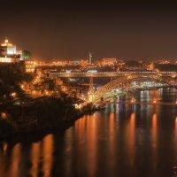 ночной Порто(мост Эйфеля) :: михаил