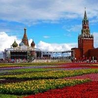 Цветы на Красной площади :: Надежда Лаптева