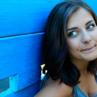 В синих тонах :: Mila Makienko