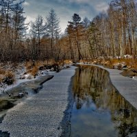 Начало строительства зимних дорог... :: Дмитрий Алдухов