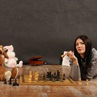 игра в шахматы :: Светлана Гамзина