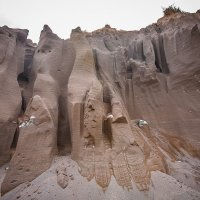 Песчаные бомы , М52, Алтай :: Дмитрий Филиппов