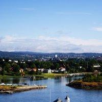 Приближаясь к Осло :: Анжела Новикова