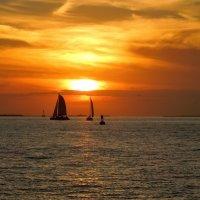 Закат в Ки Вест, Флорида :: Сергей Бушуев