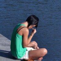 девушка с книжкой :: Венера Хадиева