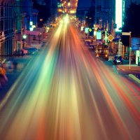 Движение ночного города :: Мария Скрынник