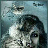 С кошкой и птичкой :: Ирина Приходько