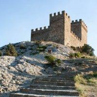 Генуэзская крепость :: Анна Цельм