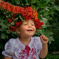 калинова-смешинковая шапка.))) :: Ирэна Мазакина