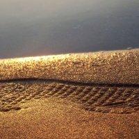 След на песке :: Виктория Горячева