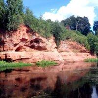 красный девонский песчаник :: Валерия Яскович