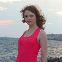 девушка и море :: Oksana
