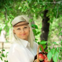 Фотосессия Яблочный Спас. :: Нелли Кравченко
