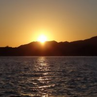 Закат на Красном море. :: Ольга