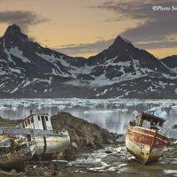летняя ночь в бухте :: Сергей Анисимов