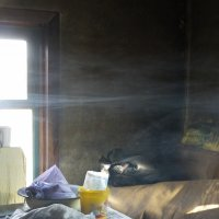 в доме курильщика :: Ann Chusa