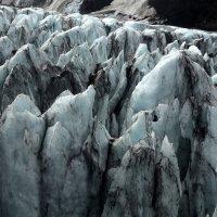 Ледник с вертолета :: Геннадий Мельников