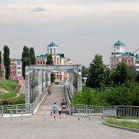 Пешеходный мост. Елец. Липецкая область :: MILAV V