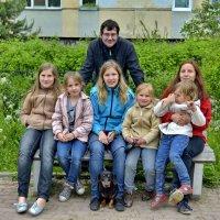Сын, дочь и пять внучек... Мои! :: Владимир Ильич Батарин