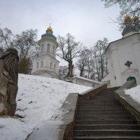 Св. Антоний и Ильинская церковь. :: Андрий Майковский