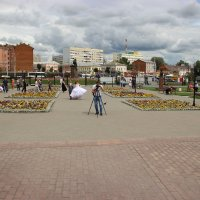 Площадь перед музеем оружия в г.Тула :: ofinogen